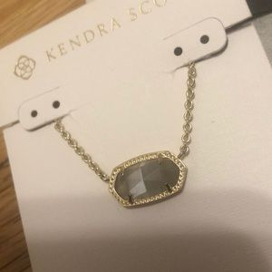 Kendra Scott Elisa necklace in graphite
